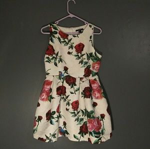 Short floral dress